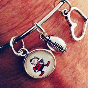 Cleveland Brownie Bangle Bracelet